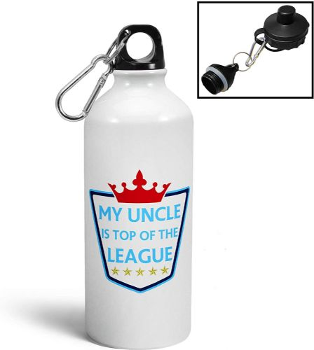 My Relation (Male) is Top of The League Sports Water Bottle/Canteen